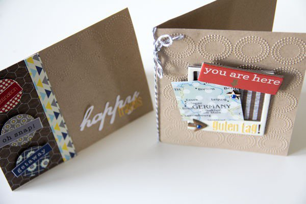travel cards {Lily Bee Design}