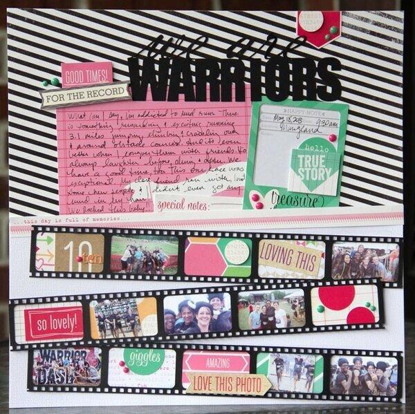 we are warriors {Elle's Studio}
