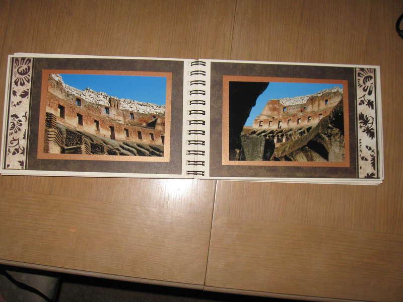 Rome #6 (left) & Rome #7 (right)