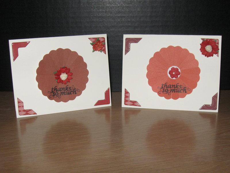 Thank You Cards-Rust
