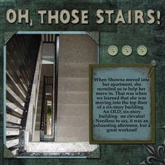 Oh Those Stairs!