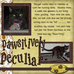 Pawsitively Peculiar