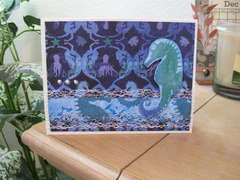 Seahorse Birthday Card