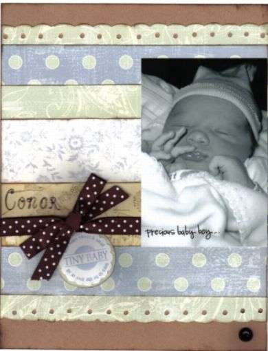 Baby Conor *Melissa Frances CHA release*