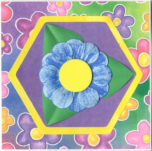 Bright Blue Flower