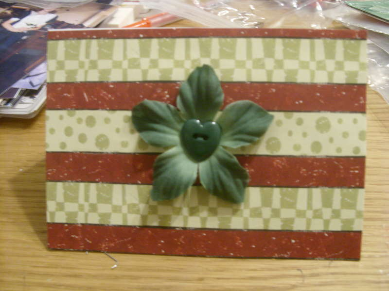 Christmas Stripes & Flowers
