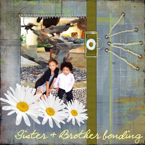 Sister & Brother bonding