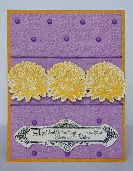 Class & Fabulous Card