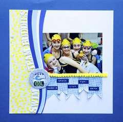 Swim Team Buddies **Scrappin' Sports & More**