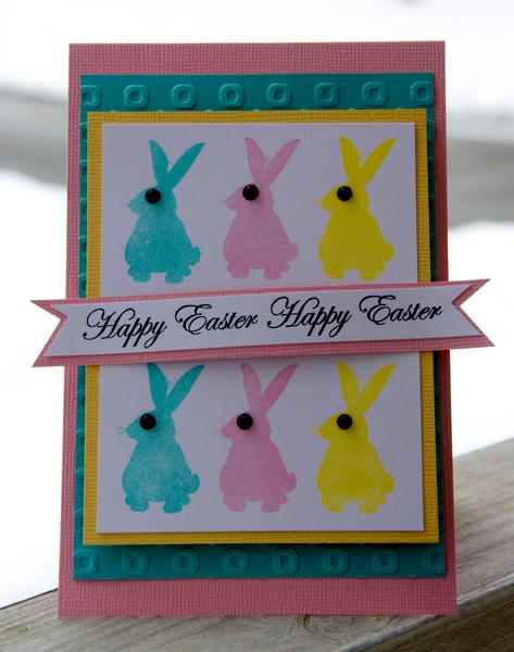 Happy Easter *Gel-A-Tins Stamps*