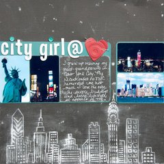 City Girl @ Heart ***Core'dinations***