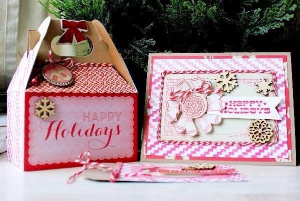 Happy Holidays Gift Set