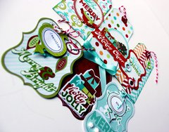 Colors of Christmas Tags