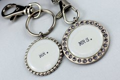 Mr. & Mrs. Key Chains