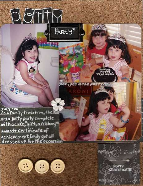Emily's Toddler Years