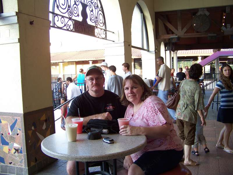 DH and I - July 4, 2008