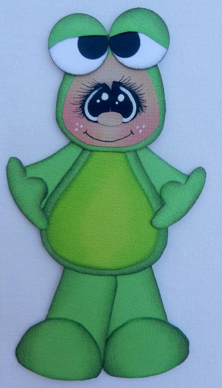 Halloween embellishment- frog