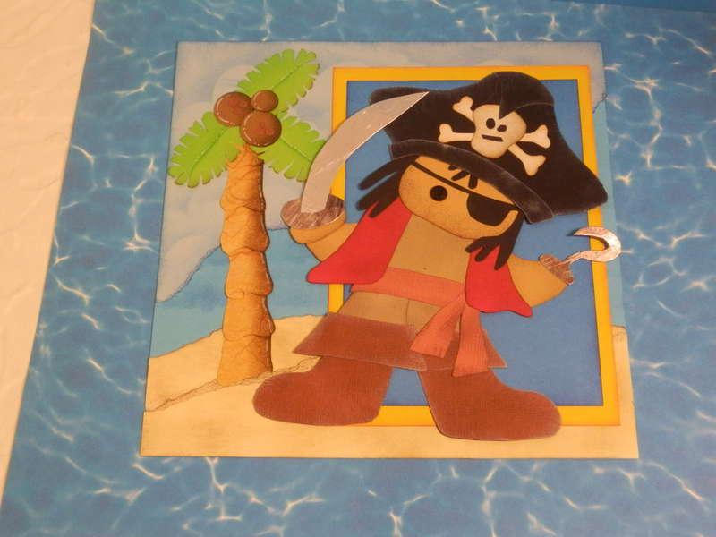 pirate paper piecing pattern by teri bears