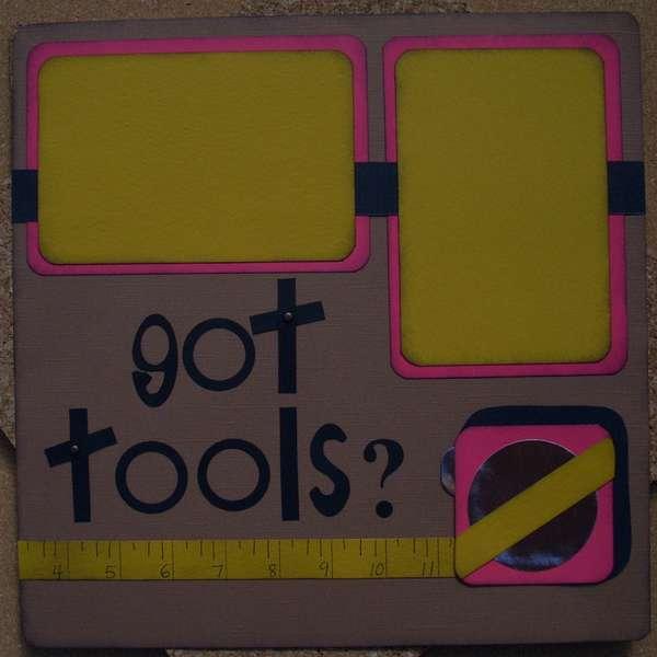 got tools? right