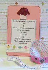 Sophia's First Birthday Invite