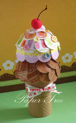 Ice-cream with a surprise inside