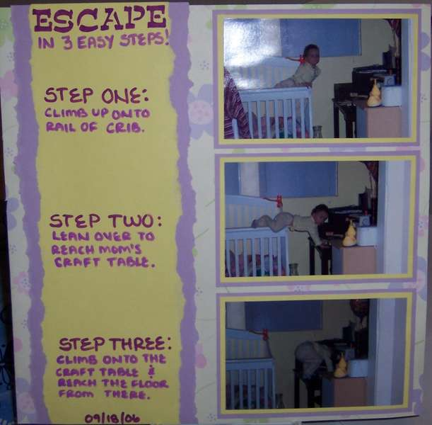 Escape: In Three Easy Steps!