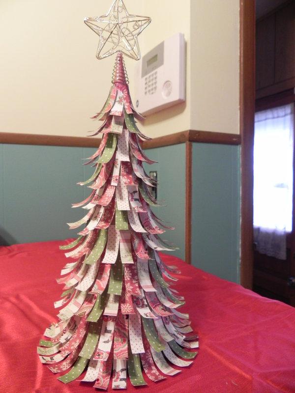 I tree i made for Christmas