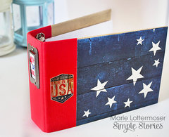 Stars and Stripes Mini Album