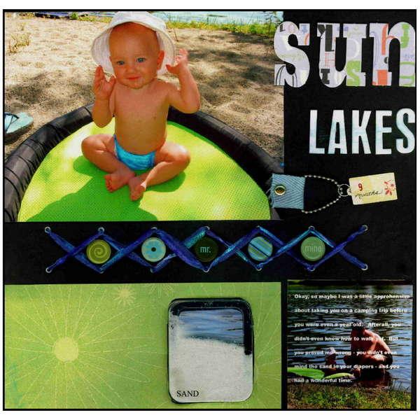 Sun Lakes Camping Trip