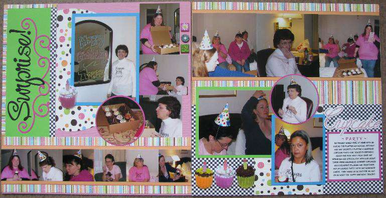 Surprise Cupcake Party
