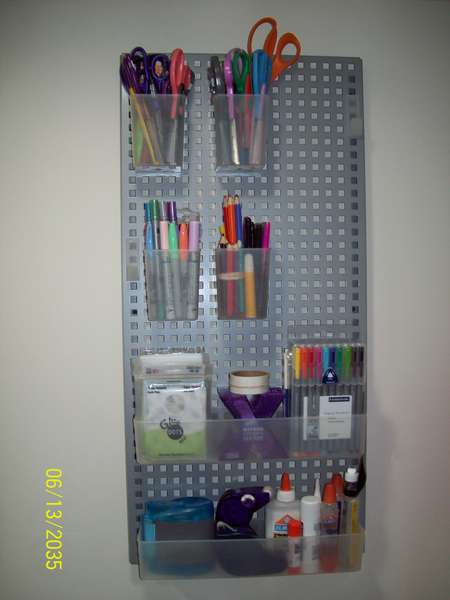 Pens, Markers and adhesive