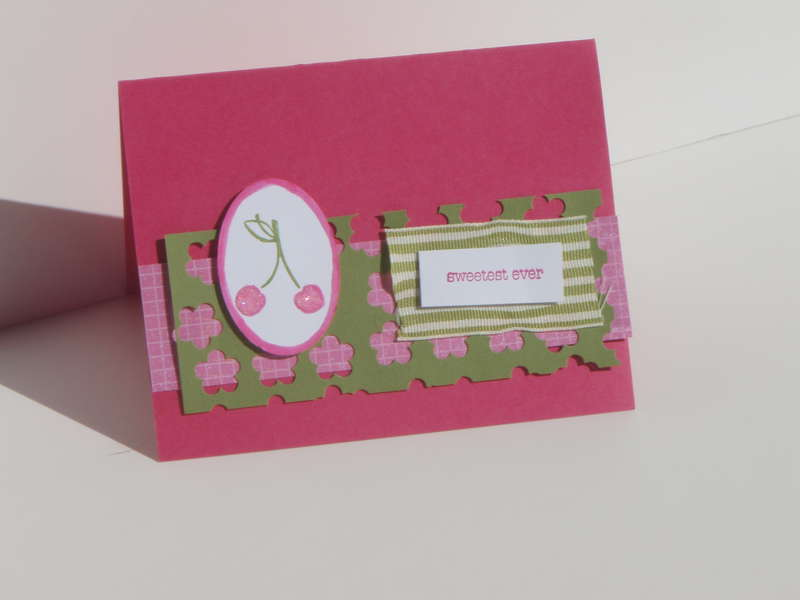 Tart and tangy card