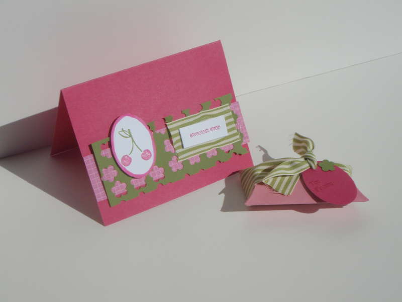 Tart and tangy card and gift box