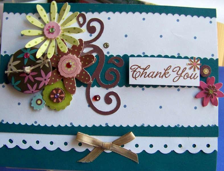 Fancy Thank You Card