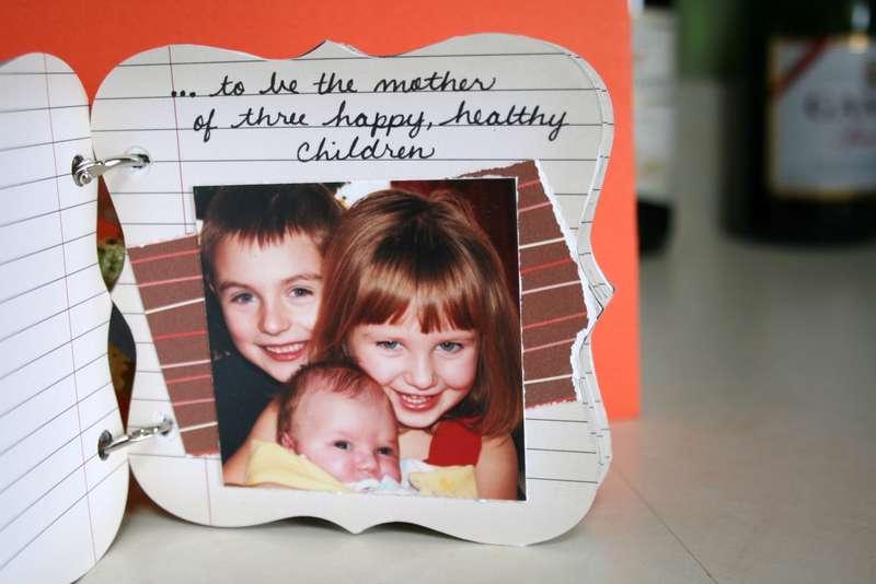 page inside my Jenni Bowlin mini-album