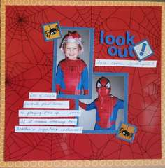 Look out! Here comes Spidergirl!