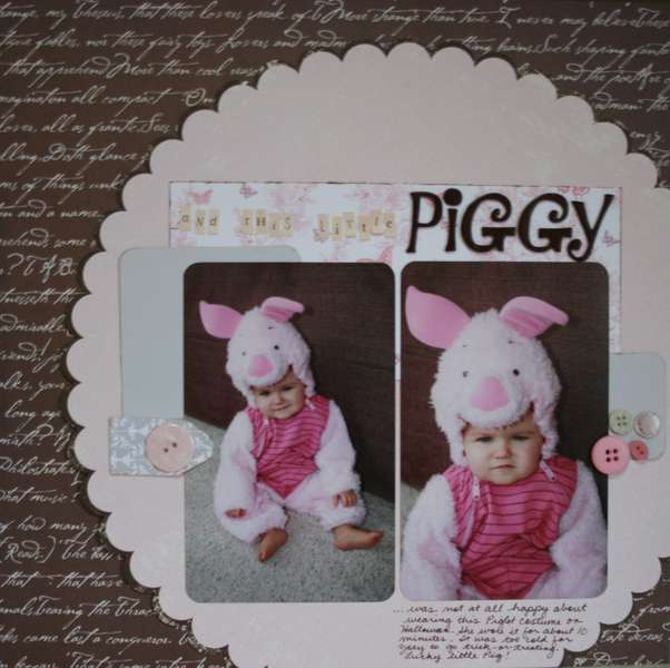 ...and this little Piggy