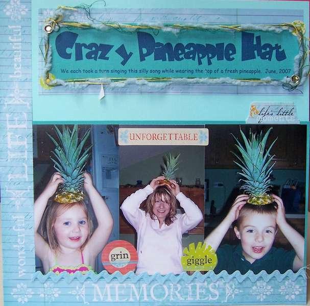 Crazy Pineapple Hat
