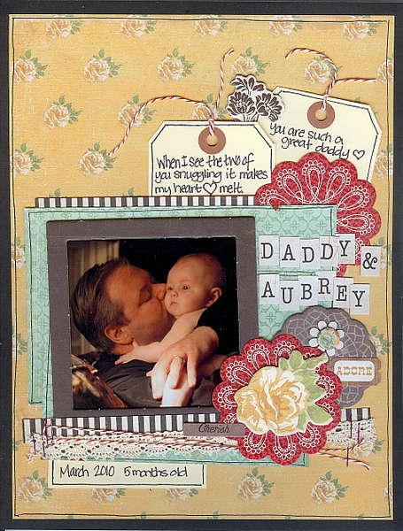 Daddy and Aubrey