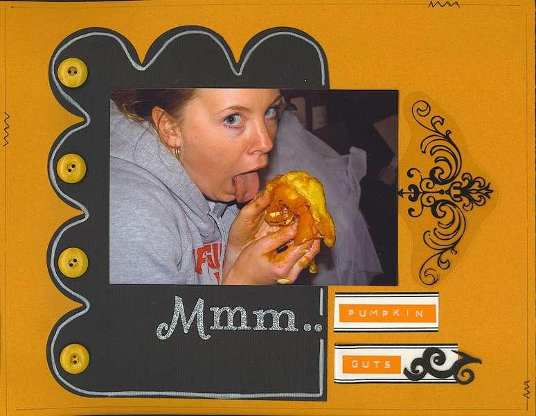 Mmm...Pumpkin Guts