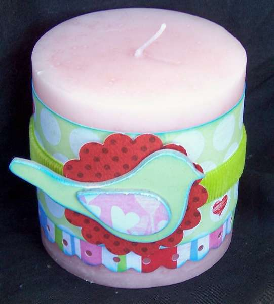 Altered Valentine Candle (bird)
