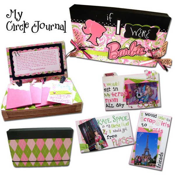 My Circle Journal - if I were Barbie...