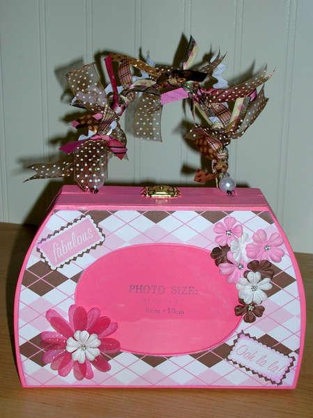 Pink Photo Album Purse
