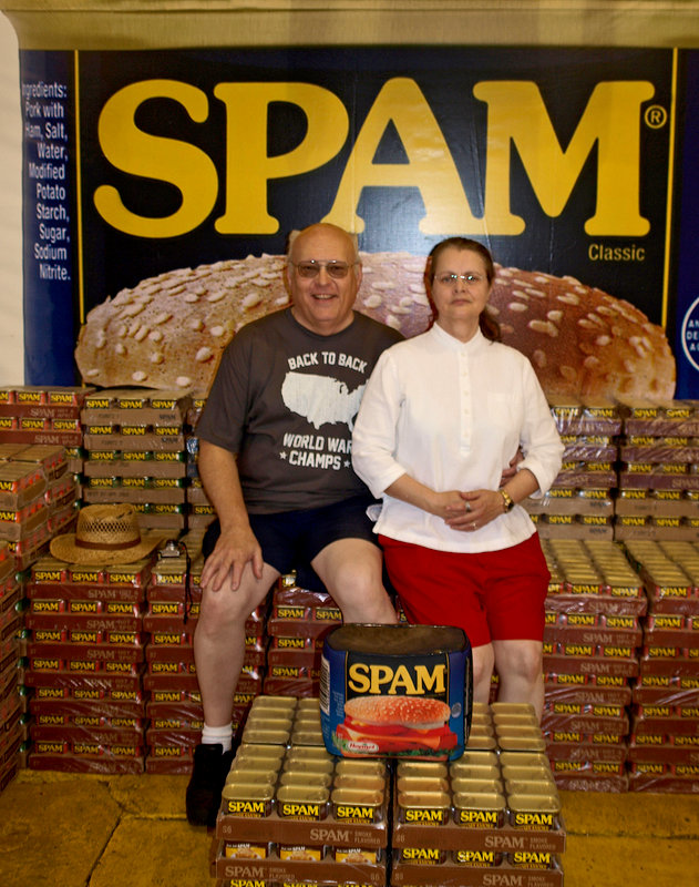 Spam royalty on the throne