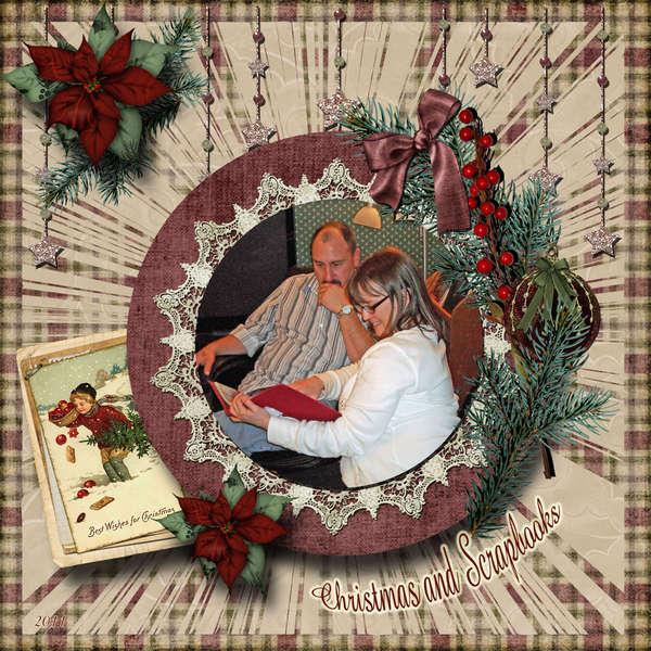 Christmas and Scrapbooks