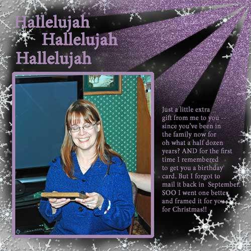 Hallelujah - Happy Birthday