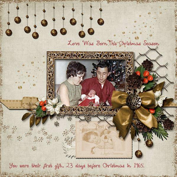 Love Was Born This Christmas Season