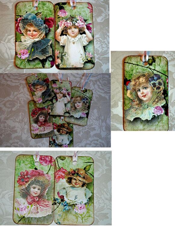 Victorian Little Girls