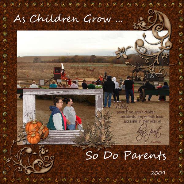 As Children Grow ---