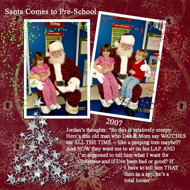 Santa is a Loser